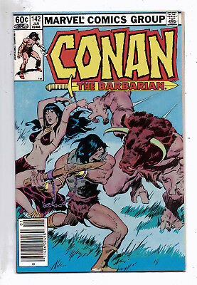 Conan the Barbarian #142 and #143, Marvel, 1983, VF condition