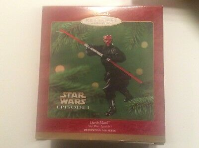 Darth Maul Star Wars Episode I Hallmark Keepsake Ornament 2000 New In Box