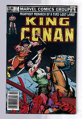 King Conan #17(F-VF) and #18(VG-F), Marvel, 1983,  Robert E Howard character