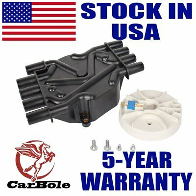 Distributor Cap and Rotor Kit for 99-02 Chevrolet GMC Savana 5.0L 5.7L No DR474