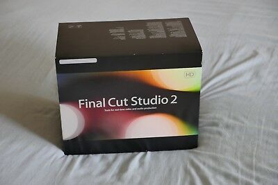 Final Cut Pro Studio 2 Upgrade (with original serial numbers)