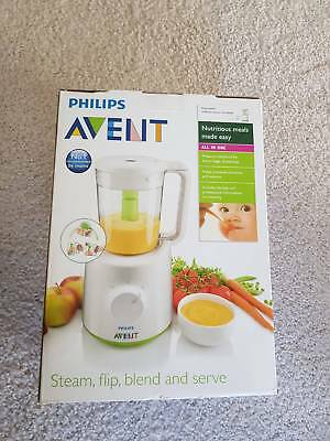 Philip Avent Brand New - All in one baby food steamer and blender