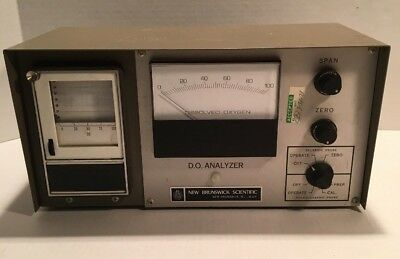 VINTAGE New Brunswick Scientific Fermenter D.O dissolved Oxygen Analyzer D.O. 50