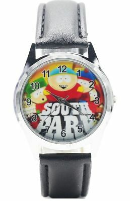 South Park Characters TV Show Genuine Leather Band WRIST WATCH