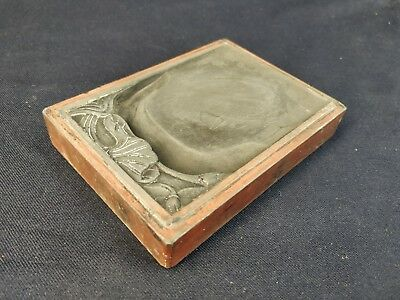 ~~FREE SHIPPING~ Antique carved ink stone pad 端硯~~