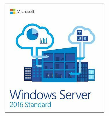 Windows Server 2016 Standard 64bit Genuine Key Instant Delivery + Download