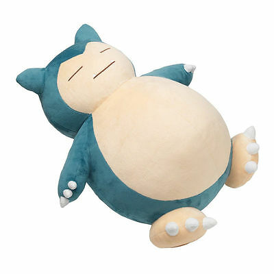 "Big Jumbo Pokemon Snorlax Plushie 20""/50cm Pillow Cushion Plush Doll Toy Gift UK"