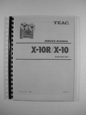 teac a 1340 reel tape recorder service manual