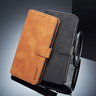 For Samsung Galaxy A6 A7 A8 A9 2018 Luxury Leather Folio Card Holder Case Cover