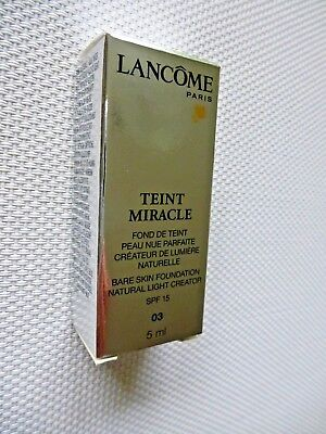 LANCOME TEINT MIRACLE- FOND DE TEINT Make-up 5 ML Farbe: 03 beige