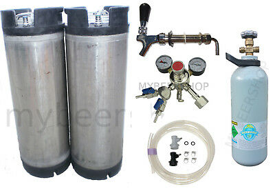 Xpert Ball Lock Kegging Kit Premium Regulator & Co2 Home Brew Beer Keg Kegerator