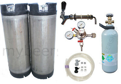 Xpert Balllock Kegging Kit Micromatic Regulator Co2 Home Brew Beer Keg Kegerator
