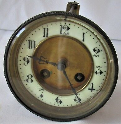 Good Quality French Striking Clock Movement & Dial