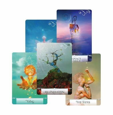 Knowledge Oracle Divination Card 52 Wisdom Tarot Cards guidance English for girl