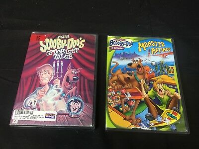 """Lot of 2"" Scooby Doo DVD - Free Shipping"