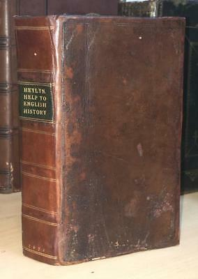 1671 Peter Heyln 'Help To English History' Contemporary Binding. Church History
