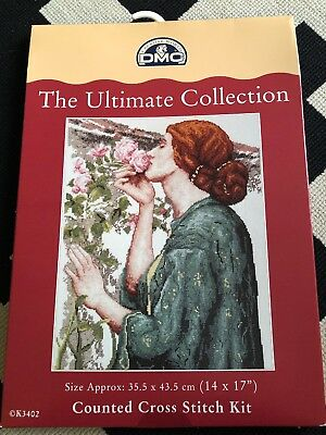 DMC - ULTIMATE COLLECTION K3402 My Sweet Rose Cross Stitch New In Box