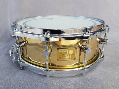 Sonor Signature Symphony Snare 14x5,5 Messing