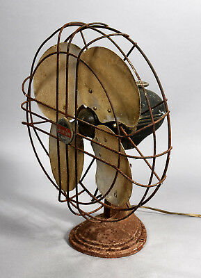 Vintage Art Deco Table Fan - ARCTIC AIRE by F.A. Smith Rochester NY - AS IS