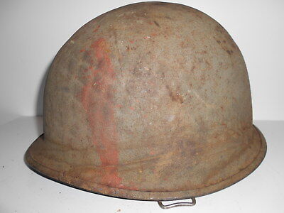 M1 Helmet liner WWII Red One  Normandy (France)