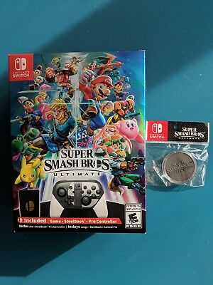 Super Smash Bros. Ultimate Special Edition - Nintendo Switch w/Limited Ed Coin