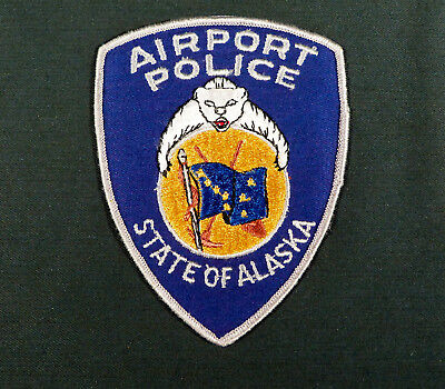 State Of Alaska Airport Police Patch
