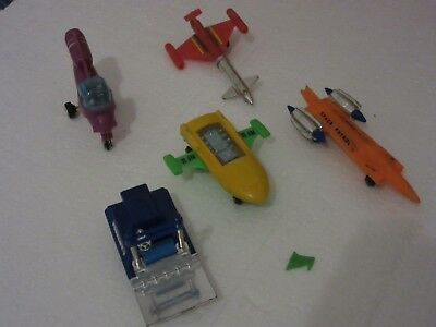 Vintage Triang Spacex vehicles - mixed lot of 5 with some damge or for spares