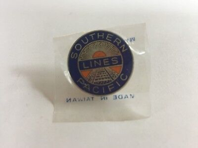 Cap,hat Badge,collar,southern Pacific Railroad,sp,pin,southern Pacific Lines