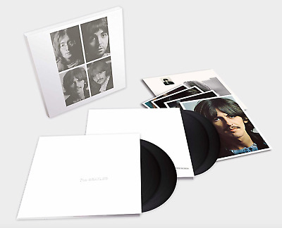 The Beatles The White Album 4 LP Deluxe Limited 50th Anniversary GIFT IDEA