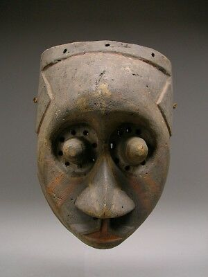 OLD ~ KUBA PWOOM ITOK Mask From Congo DRC ~ CLASSIC !!!