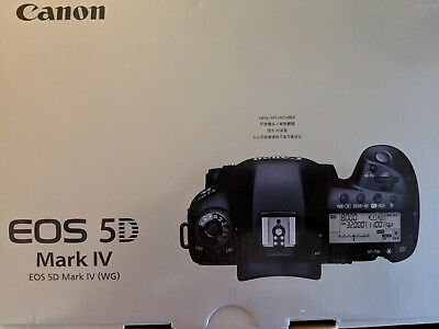 Canon EOS 5D Mark IV Full Frame Digital SLR Camera Body Low Shutter