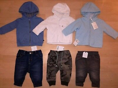 Baby Boy 3-6 Brand New Clothes Bundle NEXT trousers winter Warm Cardigans