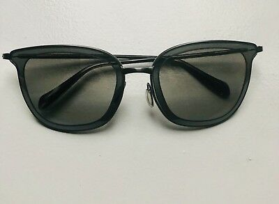 8759046c1fe5 OLIVER PEOPLES DARCEY ROC Sunglasses Glossy Dark Red ~ 55mm ~ JAPAN ...