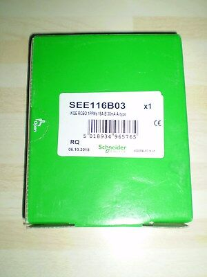 SCHNEIDER~1 x ACTi9 iKQE RCBO~SEE106B03~16A~TYPE A~BRAND NEW & BOXED~FREE P&P