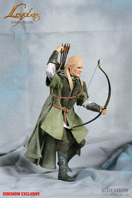 LEGOLAS GREENLEAF Sideshow Exclusive Lord of the Rings 1:6 Action Figure LOTR