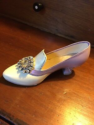 Just The Right Shoe; Raine Willetts Designs; Jeweled Heel Pump; Boot #25011 1998