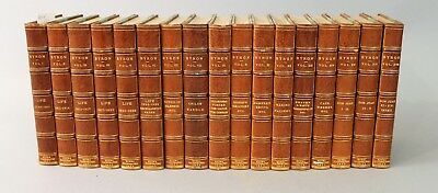 Works of Lord Byron by Thomas Moore, ESQ. 17Vol. 1832 Leather Bound by Birdsall