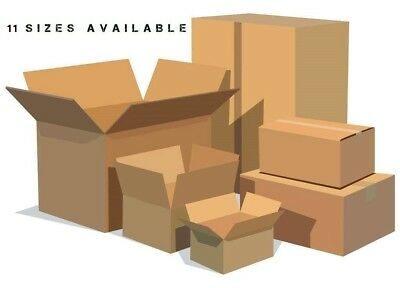 Brand New Shipping Boxes -11 Different Sizes Available
