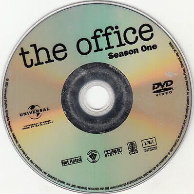 The Office First Season 1 Replacement Dvd Disc Only