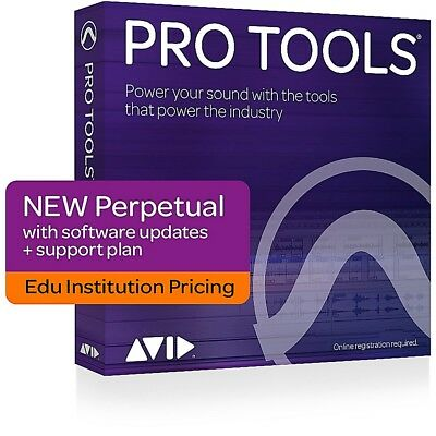 Avid Pro Tools 12 with 1 Year Standard Support - Institutional (Activation Card)