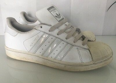 2db53e6b7bd0 Adidas Originals Superstar Iridescent Holographic Trainers White UK 6 - US  7.5