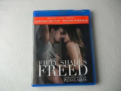 Fifty Shades Freed Blu Ray & DVD