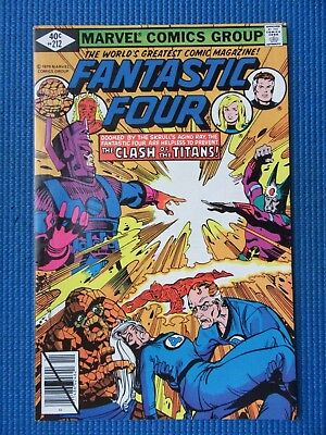 Fantastic Four # 212 - (Nm-) - Clash Of The Titans - John Byrne