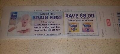 $8 Enfamil coupon (Giant Eagle grocery store)