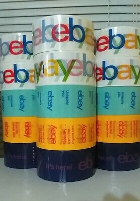 5 rolls eBay Branded Packaging Tape Shipping Supplies