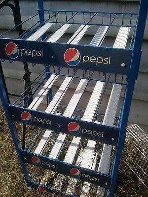 Pepsi Collectable Display rack . Rare