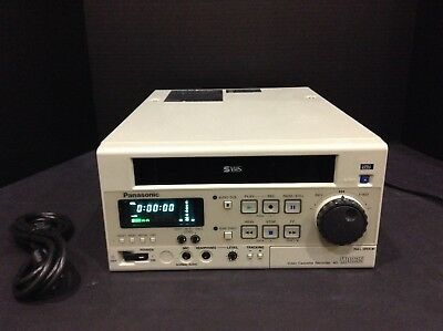 Panasonic Ag-Md835P Ultrasound Medical Vcr Video Cassette Recorder With Warranty