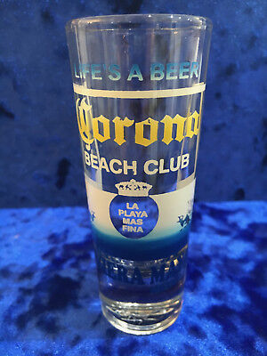 Cornona Beach Club Riviera Maya Mexico Shot Glass