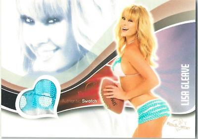 2013 Bench Warmer Bubble Gum Lisa Gleave Authentic Bikini Swatch Card #9