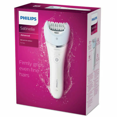 Philips BRE605 Satinelle Wet/Dry Women Electric Epilator Hair Removal for Legs